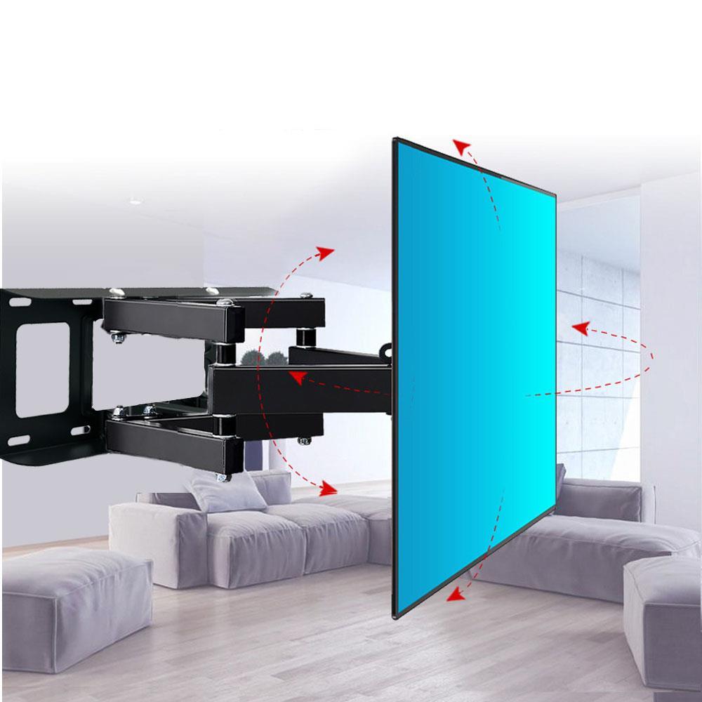 """Articulating Full Motion TV Wall Mount Tilt Swivel 360° For 26/""""32/""""37/""""42/""""50/""""55/"""""""